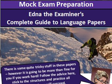 AQA English Language GCSE complete guide - Paper 1 and 2.
