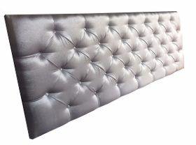 Cabeceira Suede Veludo Para Cama Box King Size Luxo - R$ 379,00