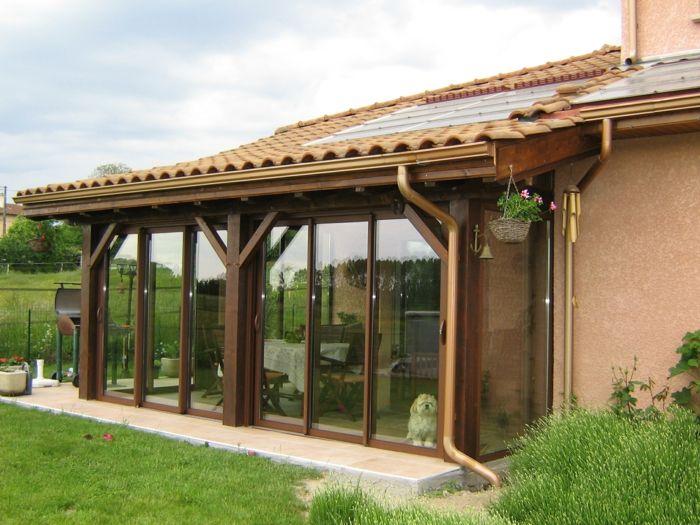 Les 25 meilleures id es de la cat gorie toiture en tuile sur pinterest toit - Veranda avec toiture tuile ...