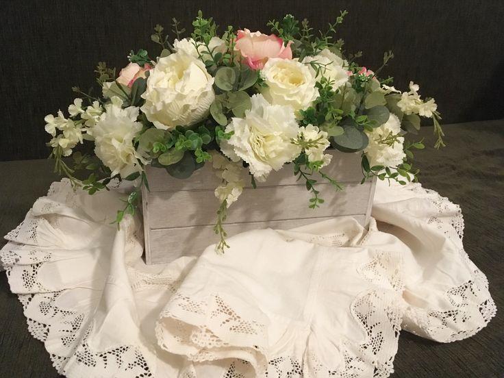 Oltre 25 fantastiche idee su fiori di legno su pinterest for Fiori di stoffa shabby chic