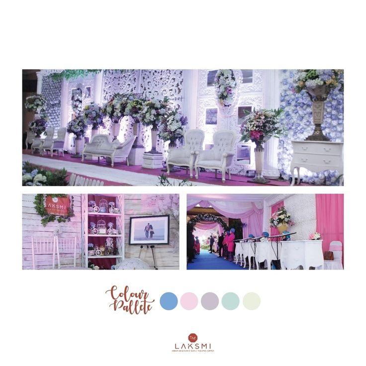 Dari dekorasi pelaminan, area buku tamu, photobooth, area jalan, photo corner, dan sudut-sudut terkecil dalam pernikahanmu akan kami desain dengan cantik  Itulah komitmen @laksmidecoration