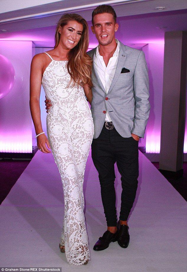'Single again': Gary confirmed he has split with girlfriend-of-one-year Lillie Lexie Gregg last week