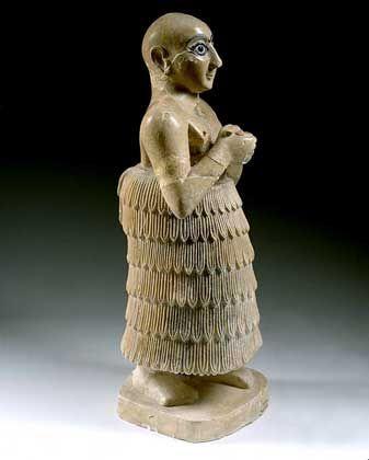 Миниатуюрная Скульптура Месопотамии