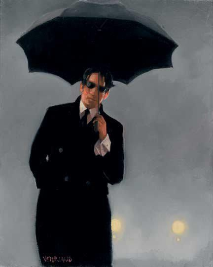 Jack Vettriano=Jack Vettriano OBE born Jack Hoggan, is a Scottish painter. His 1992 painting, The Singing Butler, became a best selling image in Britain. Born: November 17, 1951 (age 61), Methil, Fife, United Kingdom Period: Contemporary art Education: University of St Andrews Artwork: Bluebird at Bonneville, After The Thrill Is Gone, More