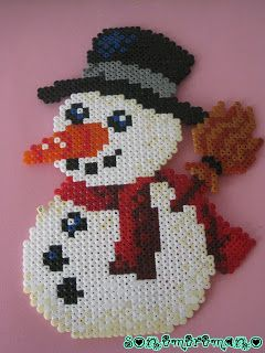 Mis manualidades: hama beads