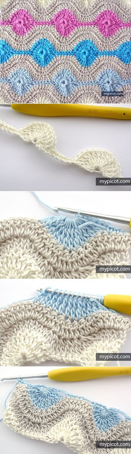 1133 best Crochet images on Pinterest | Cross stitch embroidery ...