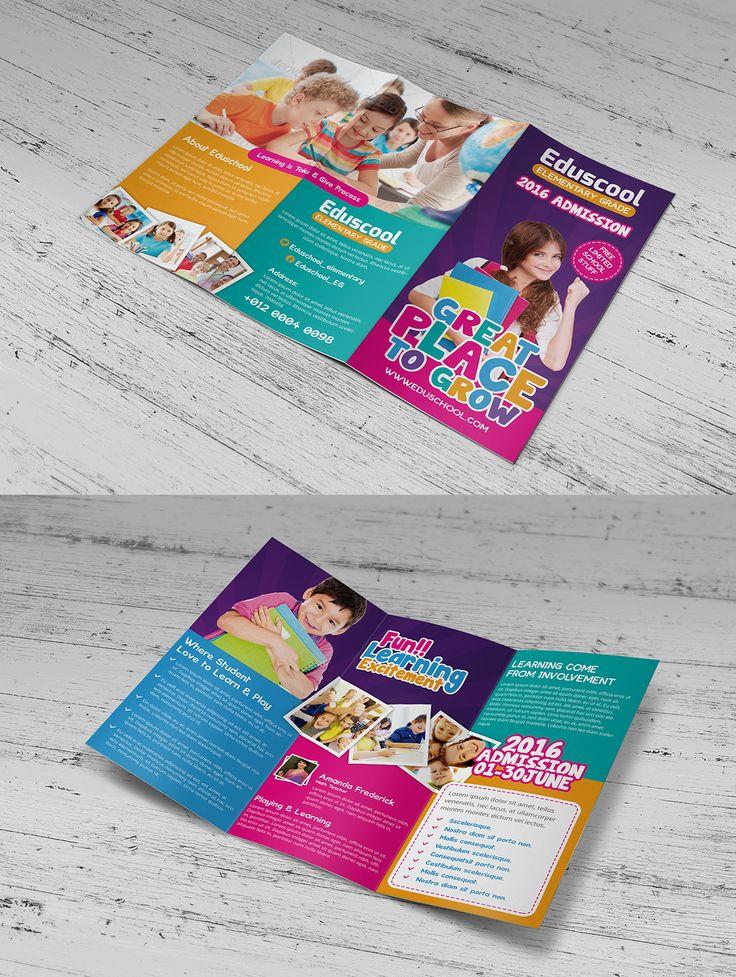 24 best brochure images on Pinterest Flyer design, Brochures and - advertisement brochure
