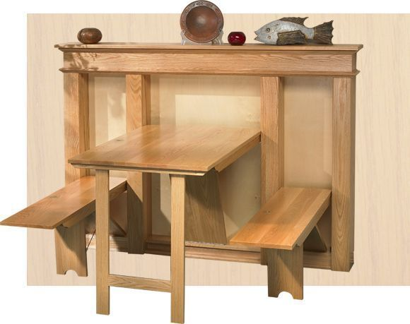 Diy Kitchen Table Small Space Fold Down - How To Make A Fold Down Table On Wall