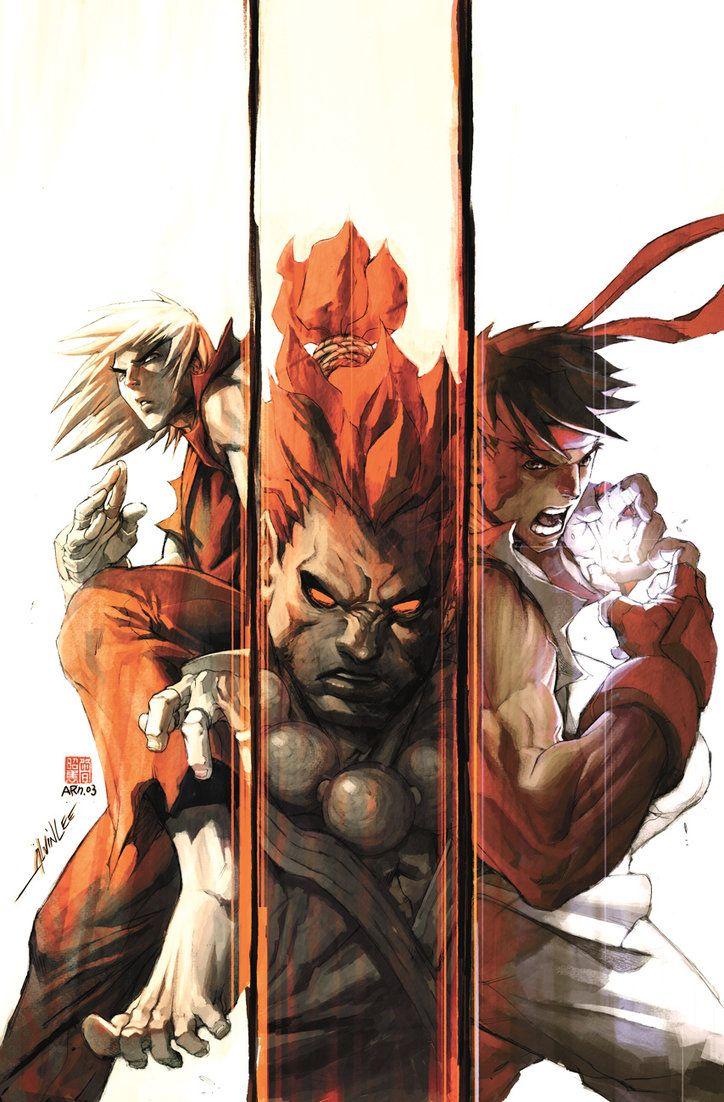 Street Fighter 1 - 6 COVER by *alvinlee on deviantART