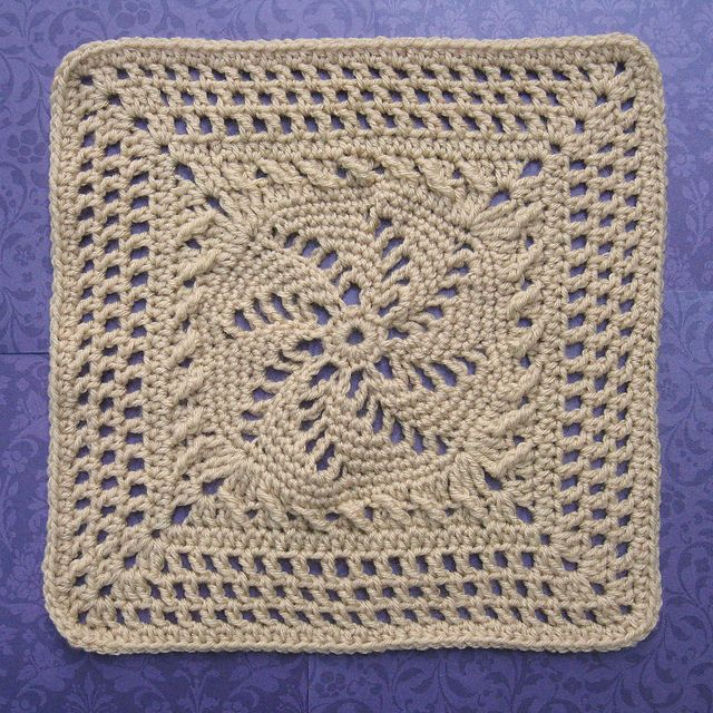Schoharie Spring Square pattern by Mary McKnight ~ free pattern