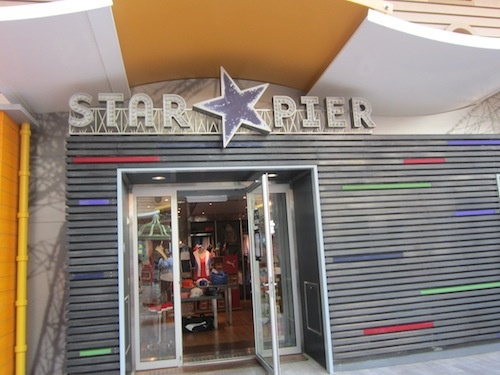 Star Pier, one of the shops on the boardwalk