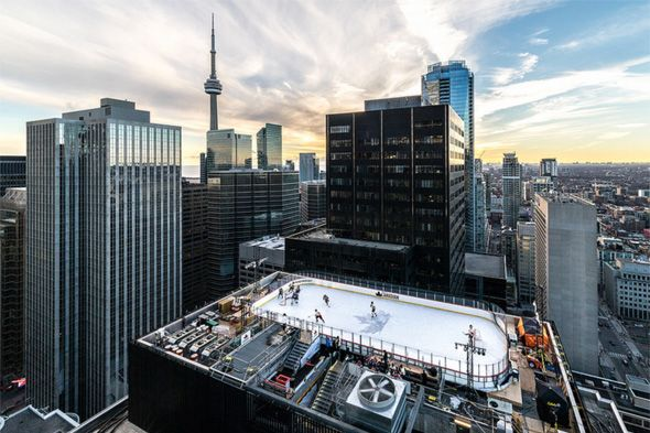 Toronto hit a record high temperature today