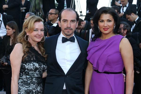 Caroline Scheufele,Alexis Veller e Anna Netrebko - Ufficio stampa Chopard