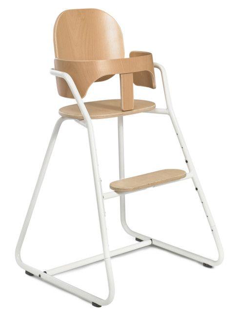 Seggiolone di design in legno e metallo con 10 posizioni di seduta: adatto dai 6 mesi agli 8 anni e oltre. Spese di spedizione: gratuite