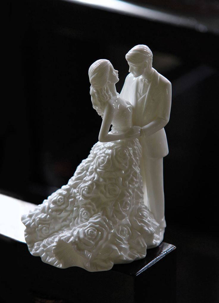 Belleek Wedding Cake Topper