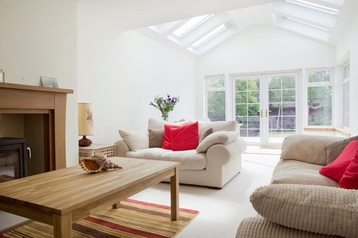 Velux windows example in pitched roof
