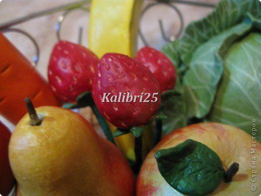 Лепка - Снова сочные фрукты и овощи в разгар зимы