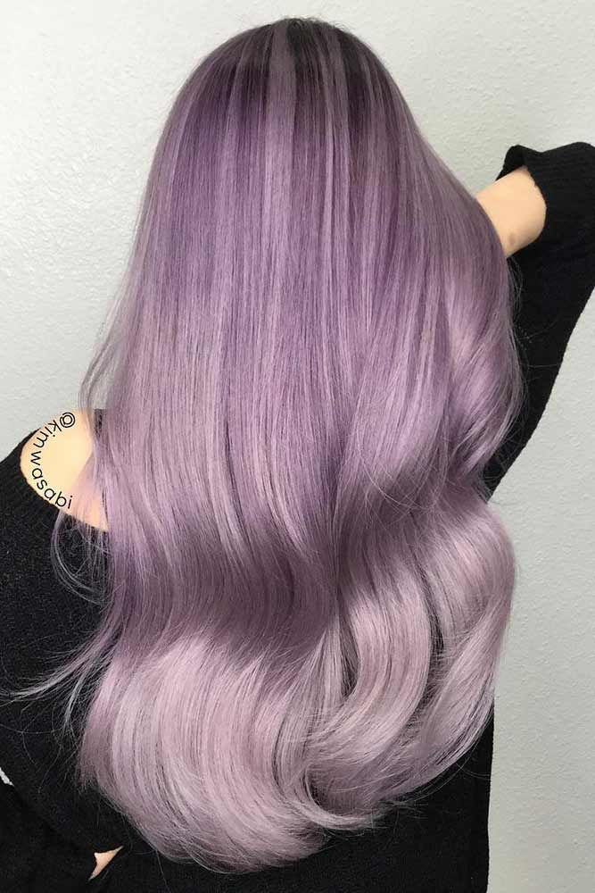 30 Insanely Cute Purple Hair Looks You Won't Be Able to Resist ❤ Blonde and Purple Mix picture3 ❤ See more: http://lovehairstyles.com/insanely-cute-purple-hair-looks/Purple hair is for women who are not afraid to express themselves. It often happens that a woman wakes up and decides to change at least something in her appearance. Interestingly, it is a kind of a rule for a woman: if...