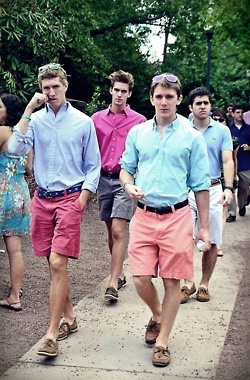 I envision Oedipus to look like a fraternity brother because they dress in a overly-confident manner. They also can be full of themselves, just like Oedipus is full of himself.