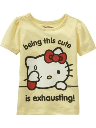 Cute Hello Kitty tee