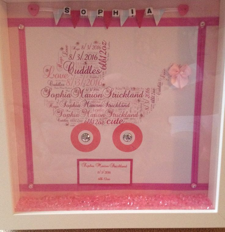 58 best personalised frames box frames with gems £15 images on ...