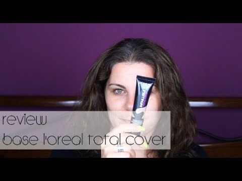 REVIEW BASE LOREAL Infaillible TOTAL COVER | RITA MARTINS - YouTube