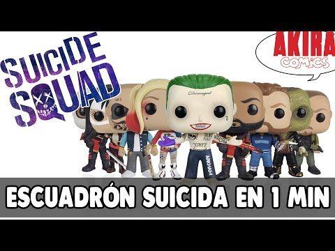 Escuadrón Suicida en (casi) un minuto || Akira Comics - YouTube