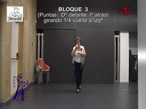 LA BICICLETA - BAILES EN LINEA - Gente Mayor/ Senior LineDance (Instrucciones+Baile) - YouTube