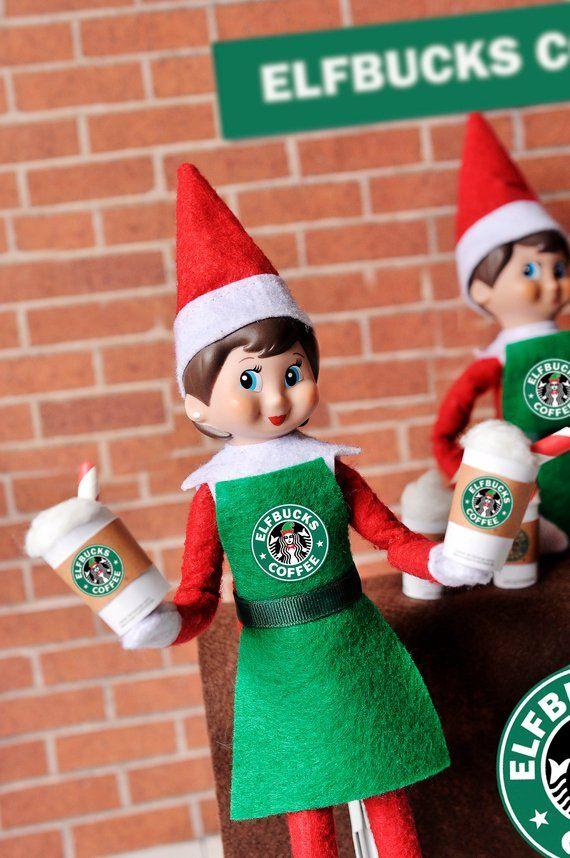 Elf Accessories Props Put On The Shelf Ideas Kit Plush Toy Christmas Decoration