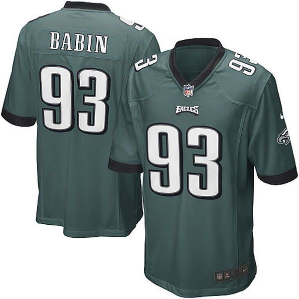 Nike Jason Babin Philadelphia Eagles Youth Game Jersey - Midnight Green - $19.99
