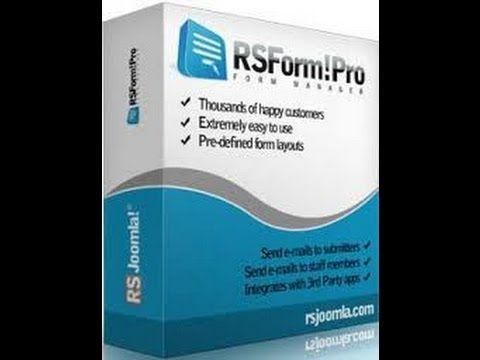 Hướng dẫn dùng RSForm Pro Components Joomla 3x Bài 2