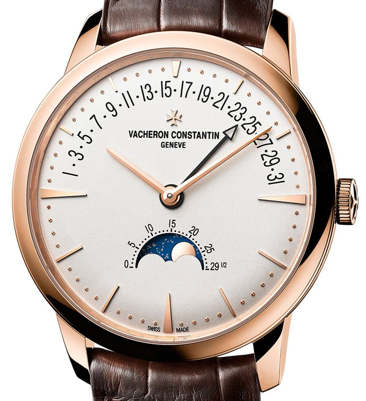 "Vacheron Constantin Constantin Patrimony Moon Phase Retrograde Date Watch ""...we are nearing the end of September, which means SIHH 2017 is just months away and the Richemont brands are beginning to tease their new offerings that they will show off next year. Taking the lead is one of Richemont's premier brands, Vacheron Constantin. And one of the new watches that the 261-year-old brand will be presenting next year is the new Vacheron Constantin Patrimony Moon Phase Retrograde Date..."""