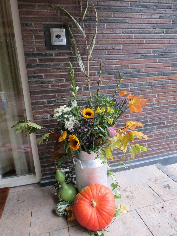 Bloemen ter gelegenheid van de opening van Casella | 11 september 2013