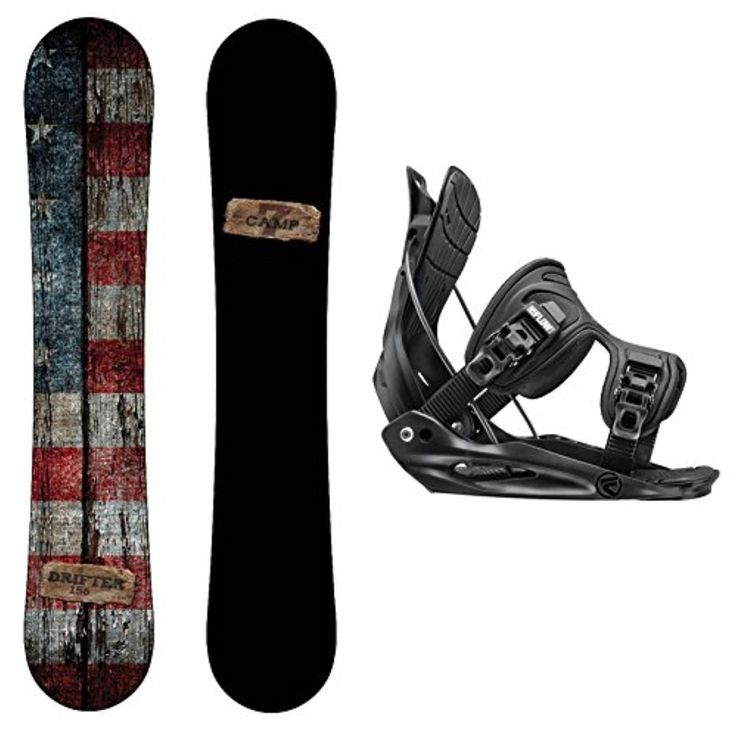 Package-Camp Seven Drifter CRCX 2017 Snowboard-156 cm-Flow Alpha MTN 2017 Snowboard Bindings-Medium - Brought to you by Avarsha.com
