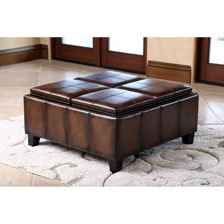 Neptune Coffee Table With Storage Ottomans: 17 Best Ideas About Square Ottoman On Pinterest