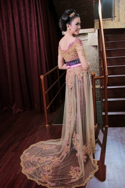 tail kebaya modern dress 2016