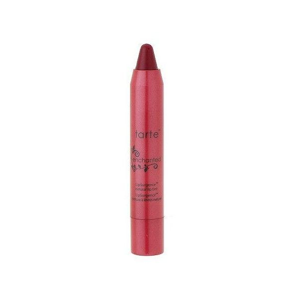 tarte LipSurgence Lip Stain (1.395 RUB) ❤ liked on Polyvore featuring beauty products, makeup, lip makeup, lip stain, lipstick, tarte lip stain and tarte