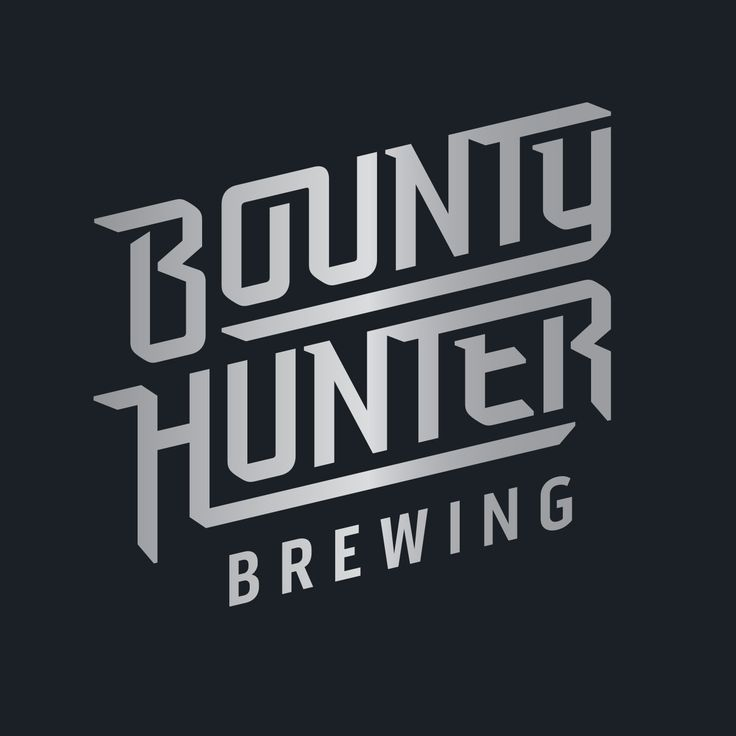 Logotype for Bounty Hunter Brewing's identity by @zendoke Inspired by pop culture and brewing some bad ass beers.   #logo #nswcraftbeer #craftbeer #bountyhunterbrewing