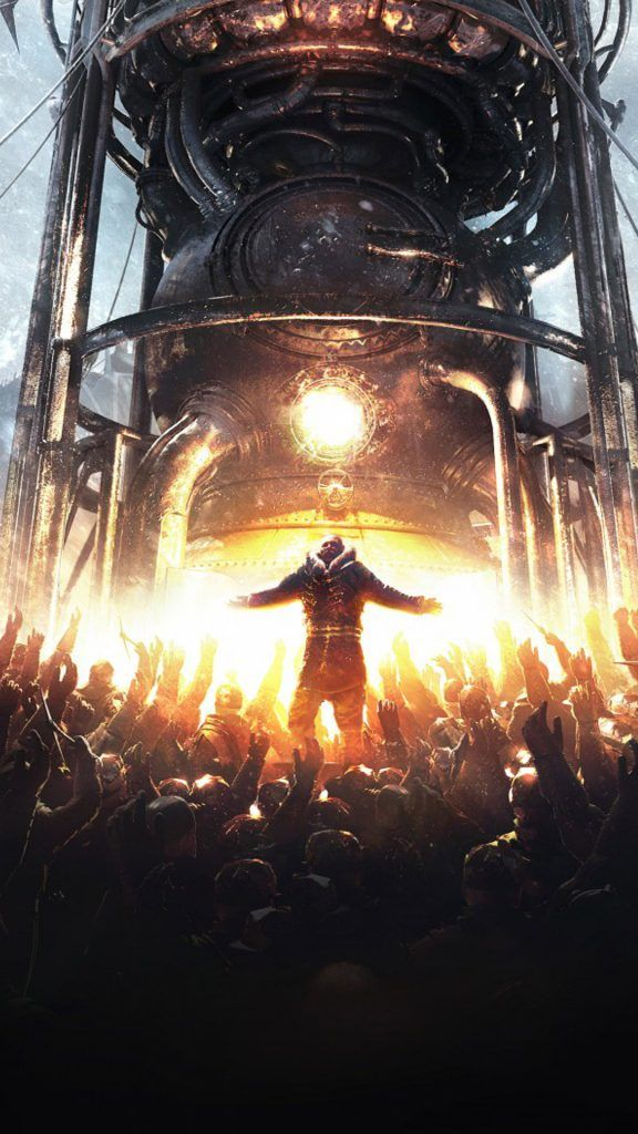 Frostpunk Video Game 4k Ultra Hd Mobile Wallpaper Mobile Wallpaper Dark Fantasy Art Wallpaper