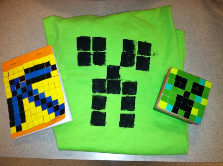 1000 images about library minecraft program on pinterest for Minecraft crafts for kids