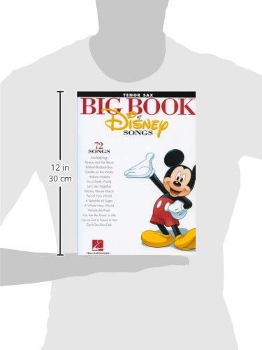 The Big Book of Disney Songs - Tenor Sax (Book Only)