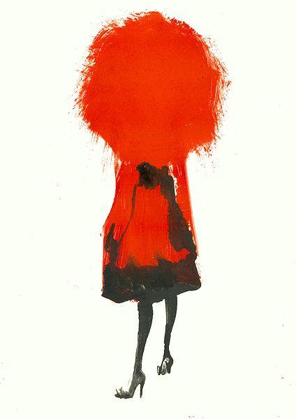 Aurore de La Morinerie : Agent & Artists. Ik ga naar de kapper en vraag om dik, rood haar…zoiets dus ;-)