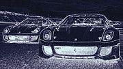 "New artwork for sale! - "" Ferrari Pagani   by PixBreak Art "" - http://ift.tt/2mVAtaC"