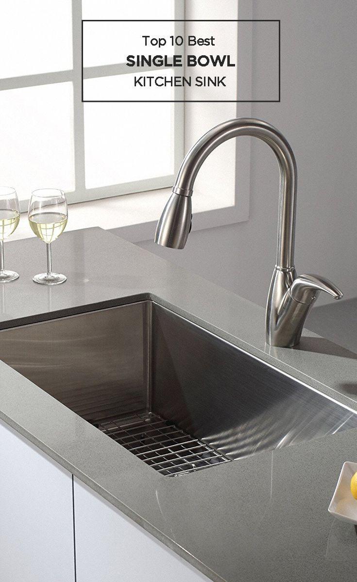 Top 10 Best Single Bowl Kitchen Sink Reviews Single Bowl Kitchen