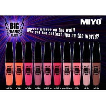 Błyszczyk Do Ust Miyo Big Bang Gloss - Kosmetyki Pierre Rene - Pierre Rene
