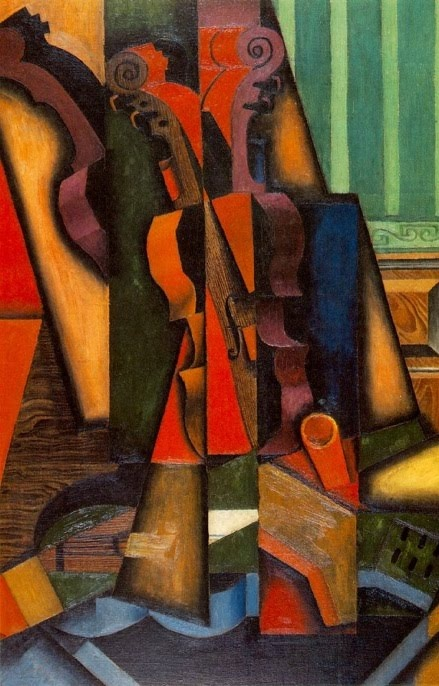 JUAN GRIS... I love all the detailed color.