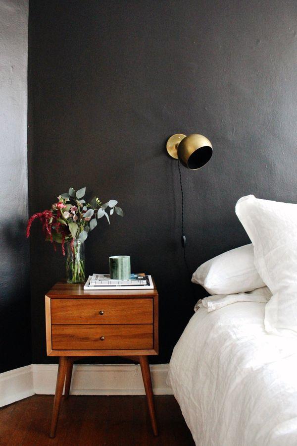 95 best black, white + gold bedroom images on pinterest