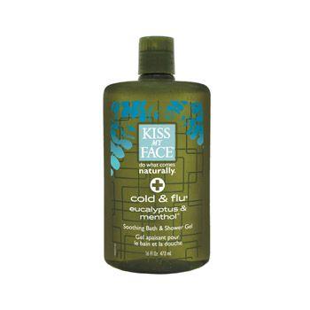 Cold & Flu Shower & Bath Gel {Kiss My Face} $9.95