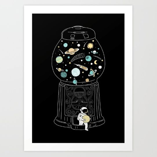 My Childhood Universe 2 | Poster Print for Sale
