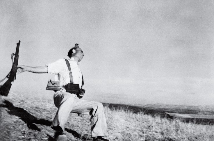 The Falling Soldier by Robert Capa 1936